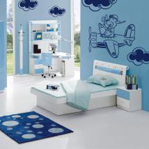 Walls decoration child aircraft