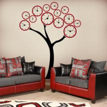 Decorate walls tree watches