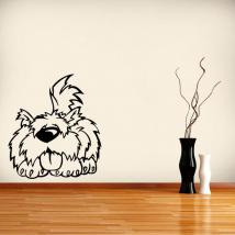 Decorative vinyl cute pet