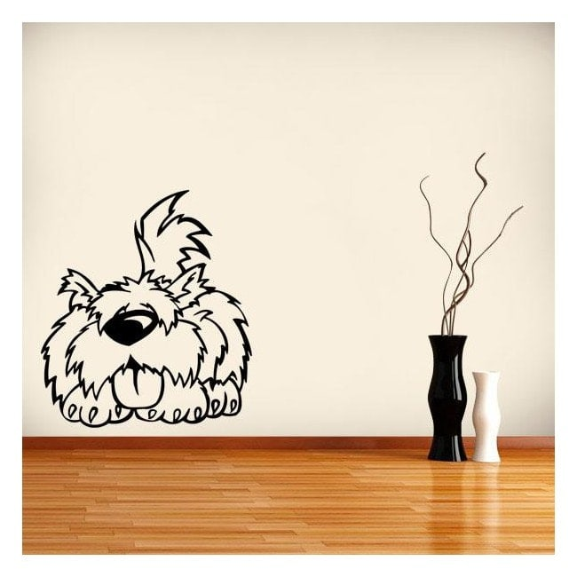 Decorative vinyl cute pet