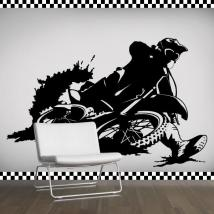 Decorative vinyl Motocross