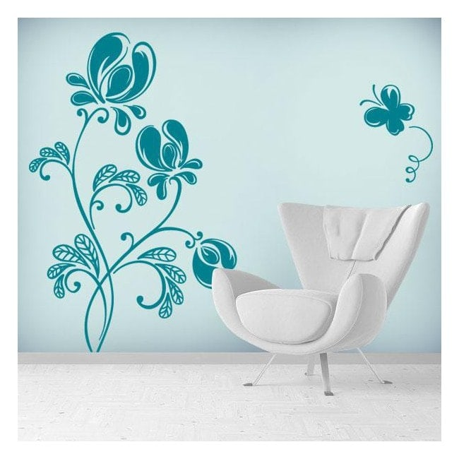 Tenderness Floral wall stickers