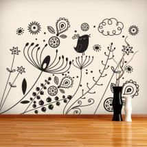 Sticker wall art Floral