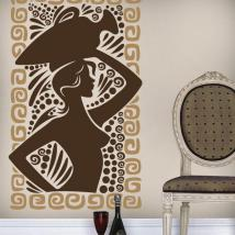 Greek art decorative vinyl