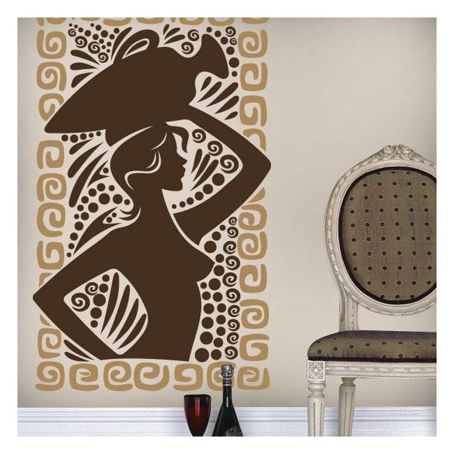 Greek art decorative vinyl