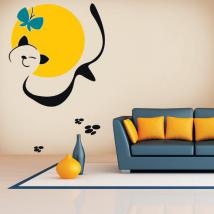 Decorative vinyl Animal Art