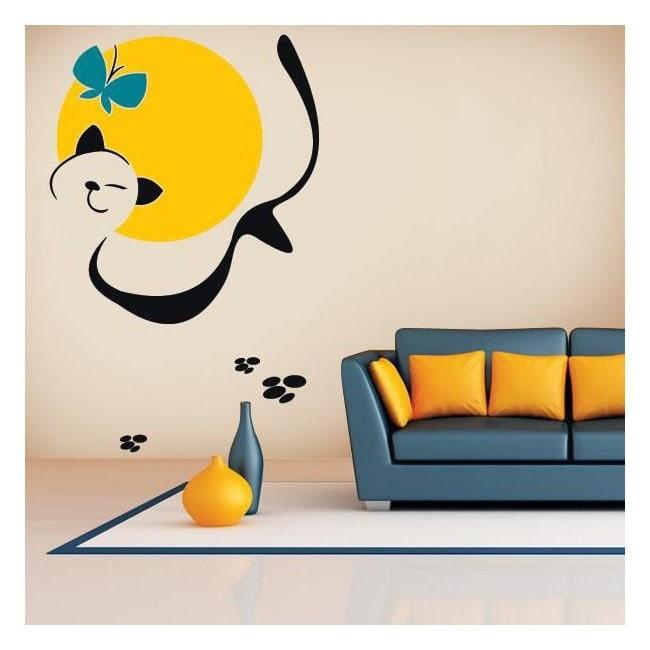 Decorative vinyl Animal Art