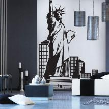 New York decorative vinyl English 619