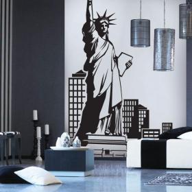 New York decorative vinyl