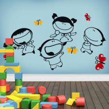 Decorative vinyl child joy