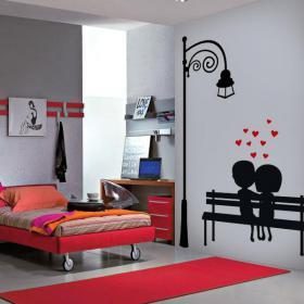 Decorative vinyl lovers