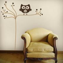 Luminescent panels dividing fluowall minimalist OWL