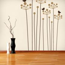 Vinyl decorative Floral nature English 634