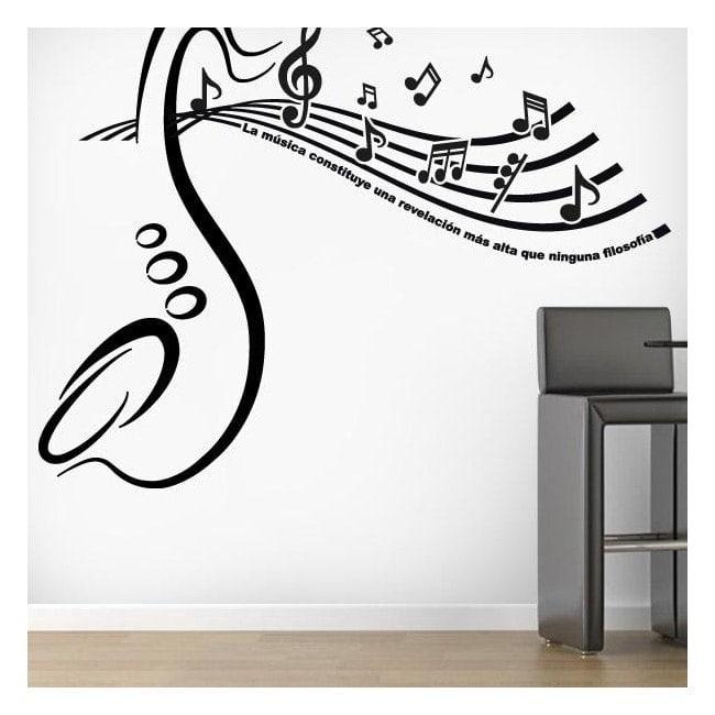 Decorative vinyls Musical revelation