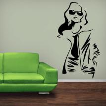 Fashion wall sticker