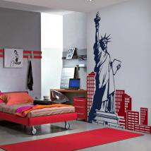 New York decorative vinyl English 654