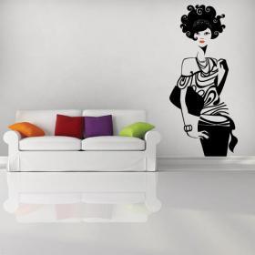 Adhesives walls of fashion
