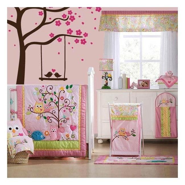 Decorative vinyl tree charm