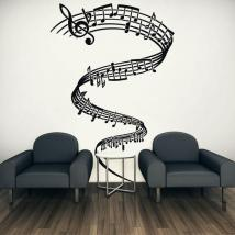 Decorative vinyls Musical Tornado