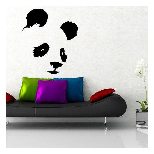 Decorative vinyl bear Panda
