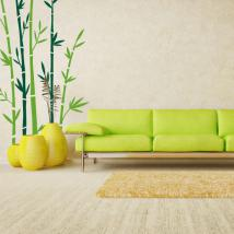Decorative vinyl walls bamboo