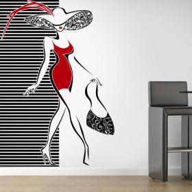 Decorative vinyl walls of fashion