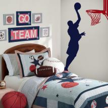 Decorative vinyl wall Basketball