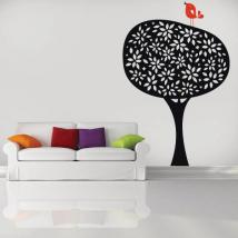 Decorative vinyl Retro nature