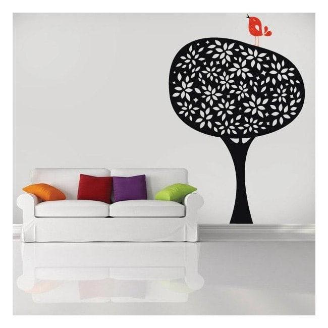 Decorative vinyl Retro nature