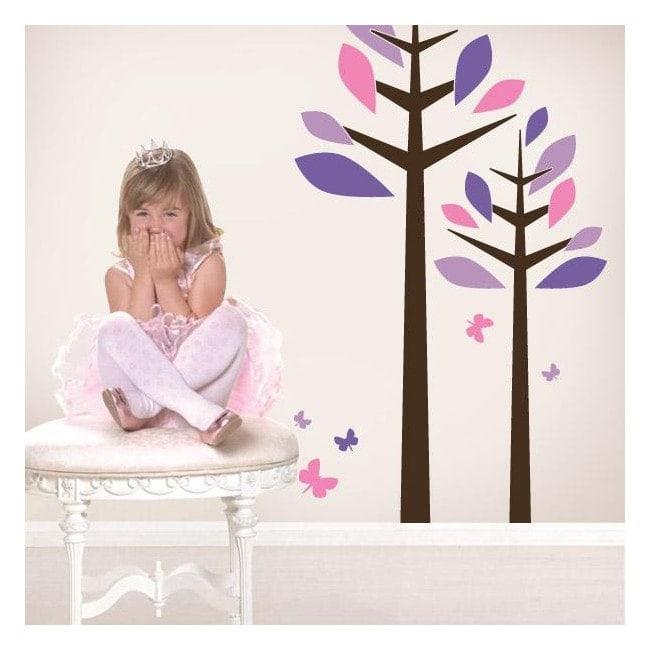 Vinyl decorative Floral tenderness