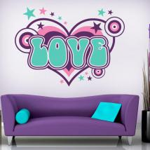 Decorative Vinyl Love English 754