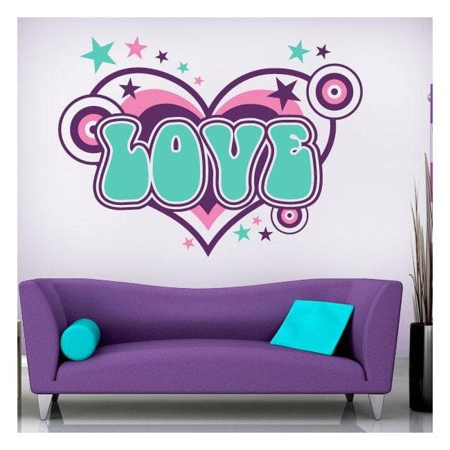 Decorative Vinyl Love English 754