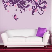 Vinyl decorative Floral Fantasy