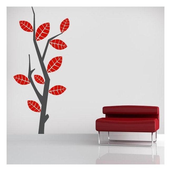 Vinyl nature Retro tree