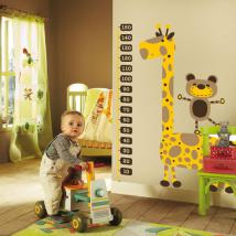 Children's vinyl giraffe meter height
