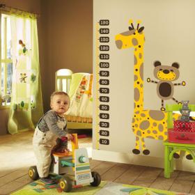 Children's vinyl giraffe meter height
