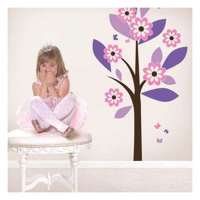 Vinyl nature Princess tree