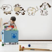 Children's vinyl animals Kit