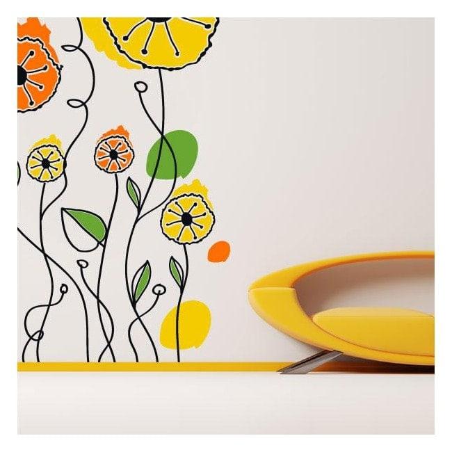 Vinyl Floral nature