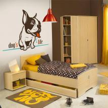 Decorative vinyl Dog's Life