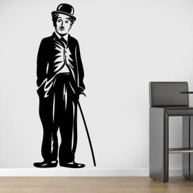 Decorative vinyl Charles Chaplin