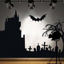 Vinyl decorative 2014 Halloween