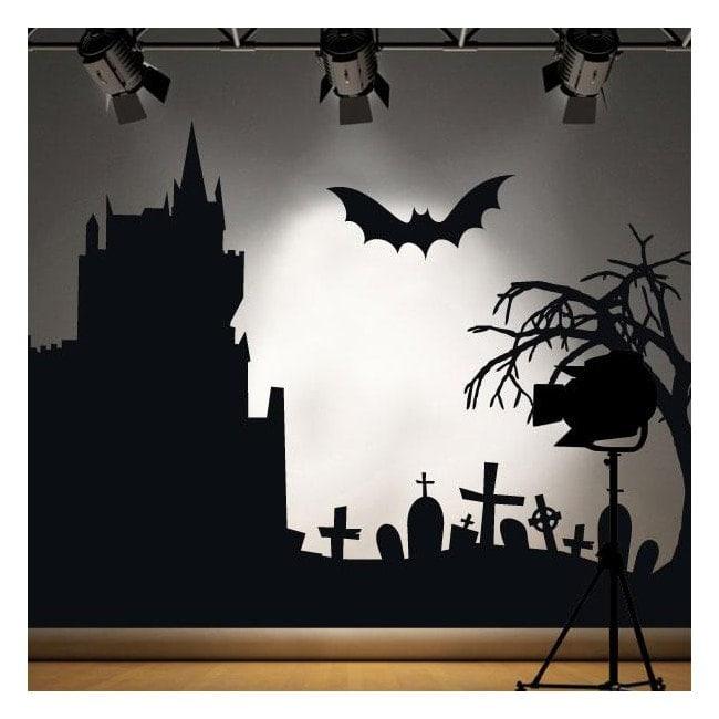 Vinyl decorative 2014 Halloween