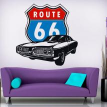 Decorative vinyl route 66 English 826