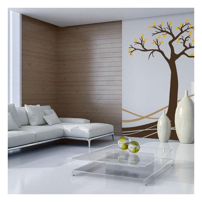 Vinyl nature author tree