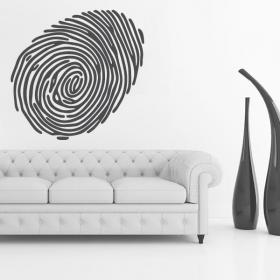 Decorative vinyl imprint