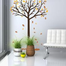 Decorative vinyl tree fall