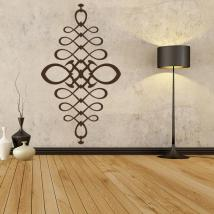 Vinyl adhesive decorative filigree