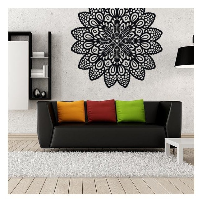 Stickers wall rosette