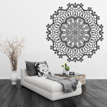 Sticker wall rosette